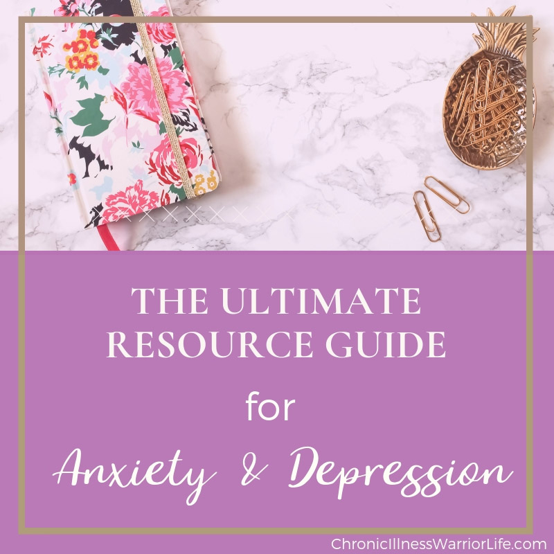 Having trouble determining worthwhile resources and information for overcoming anxiety and dealing with depression? This ultimate resource guide will point you in the direction of the most recognized and useful resources!