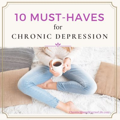 10 Vital Elements (You Must Have) for Dealing with Chronic Depression