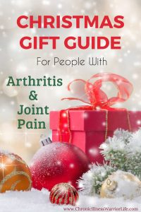 This gift guide is full of brilliant ideas for gifts for people with arthritis and other chronic illnesses. The gifts help with joint pain and stiffness but also are totally unique and thoughtful.