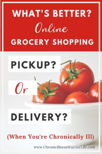 Because I have a chronic illness, grocery shopping online is the greatest thing since sliced bread. I am glad I found this article that asks the question, what's better grocery delivery or grocery pickup. Now that I have seen them compared, I know which one is best for me.
