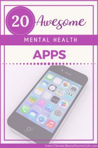 Mental health apps are so easy to use and I always have my phone right next to me. These are great apps for me to choose from and I can use them manage my mental illness.