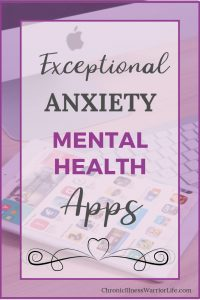 Having apps for my anxiety right on my phone has been a game-changer. I use my anxiety mental health apps everyday and my therapist agrees she has seen immense improvement in my symptoms.