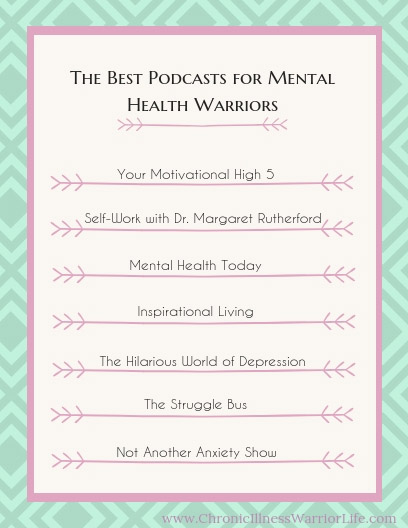 This is a great list of mental health podcasts that cover the many types of mental illnesses. I can't wait to listen to them and find my favorites.