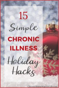 I so could have used these chronic illness holiday hacks last year! Definitely saving these great ideas for when I start my holiday planning.
