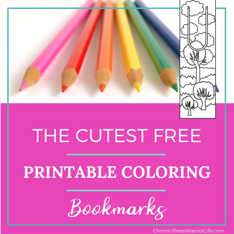 10 [Completely FREE] Adult Coloring Bookmarks - Chronic ...