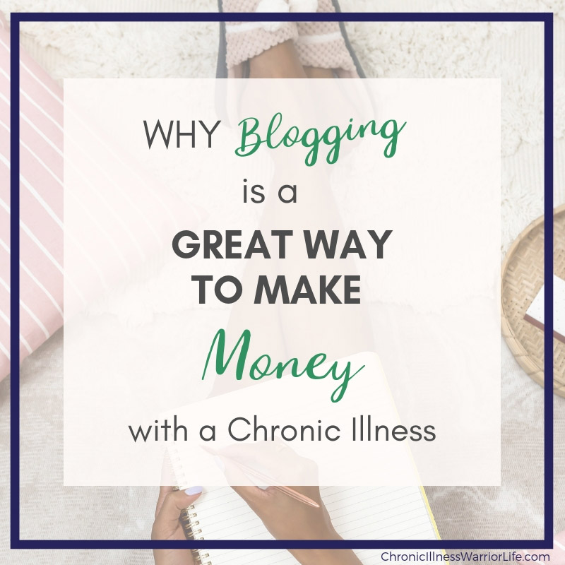 I sit at home day after day beating myself up because I can't work with my chronic illness. After reading this article, I am so glad to know that blogging is a real way to make money for people with a chronic illness. Next stop, Elite Blog Academy. #chronicillnesswarriorlife #chronicillness #makemoney #athomejobs #chronicillnesjobs #mentalillnessjobs #mentalillness #eliteblogacademy