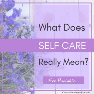 The term self-care is used all over the place, but it wasn't until I read this article that I truly get what self-care really means. Now I understand what all the buzz is about. #chronicillnesswarriorlife #chronicillness #chronicillnesslife #mentalillness #mentalhealth #selfcare #selfcareplan #selfcareideas #selfcareactivities #selfcareworksheet #selfcareprintable #selfcaretoolkit