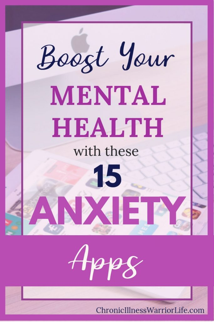 Having apps for my anxiety right on my phone has been a game-changer. I use my anxiety mental health apps everyday and my therapist agrees she has seen immense improvement in my symptoms. #chronicillnesswarriorlife #chronicillness #mentalillness #mentalhealth #mentalhealthapps #anxiety #anxietyhelp #mindfulness #meditation #deepbreathing