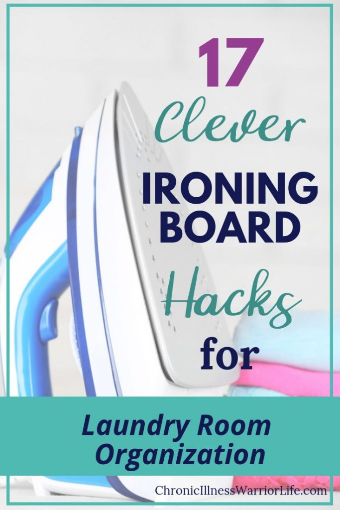 One of the most important things to consider when you are tackling laundry organization is where do you store your ironing board. It is a very clunky and awkward object that often gets thrown in a corner. But it doesn't take much effort to come up with your own DIY laundry room organization ironing board storage solutions.