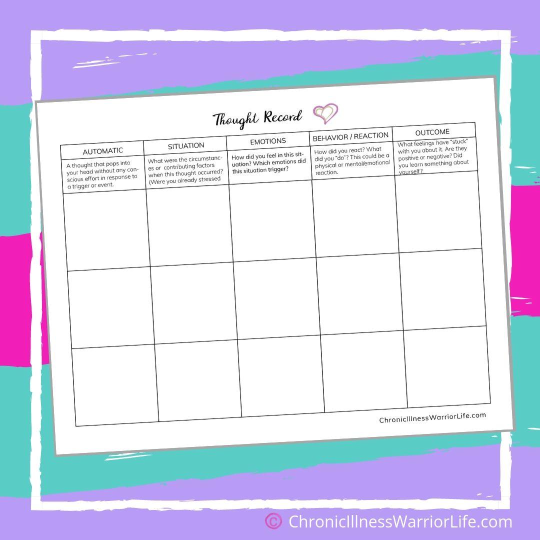 Mental-Health-Printable-Worksheet-Thought-Record-Log ...