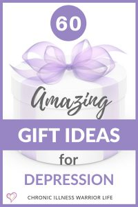 Wow! This guide for gifts for someone depressed is massive! I have never seen so many great gift ideas for someone with depression in one place. This is definitely getting saved and pinned for later. Coming up with thoughtful gifts for depressed people is really hard but this gift guide makes it easy! I bet you can't keep from buying a few of these gifts for yourself. #depression #gifts
