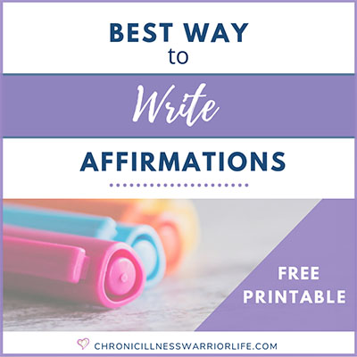 The Best Way to Write Affirmations (+ Exactly How To Use Them)