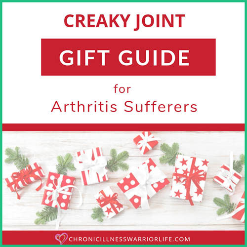 This is an amazing Christmas gift guide full of unique and practical gift ideas for people with arthritis. Lots of products for cooking with arthritis and arthritis friendly gardening tools. Driving with arthritic hands can be difficult at times and there are some great ideas to help with that challenge. Whether it is an arthritis blanket, compression gloves, or gadgets for arthritis sufferers, you will find a well-appreciated gift. #rheumatoidarthritis #christmasgift #chronicillness #giftideas #giftguide