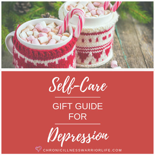 When my friend is going through a rough patch with her depression, she often won't take care of herself. That is why I am looking for self-care gift ideas that will make her want to do something positive for herself. I love these Christmas self-care gift ideas so much, I will be getting some for myself! #depression #giftideas #selfcare