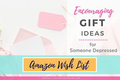 This is a great gift guide of encouraging gifts for depressed people. From simple gifts to make someone smile to inspirational gifts of strength and courage, this gift list has it all. Looking for encouraging gifts for depression is easy and I am definitely saving this post for the next time I need gift ideas for someone going through a hard time. #depression #giftideas #encouragemet #mentalhealth #christmasgifts #inspirationalgifts