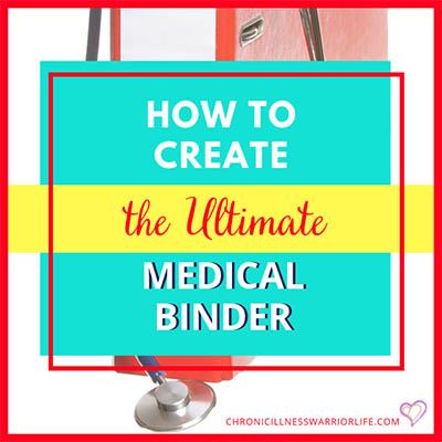How to Make a Medical Binder (DIY Style)