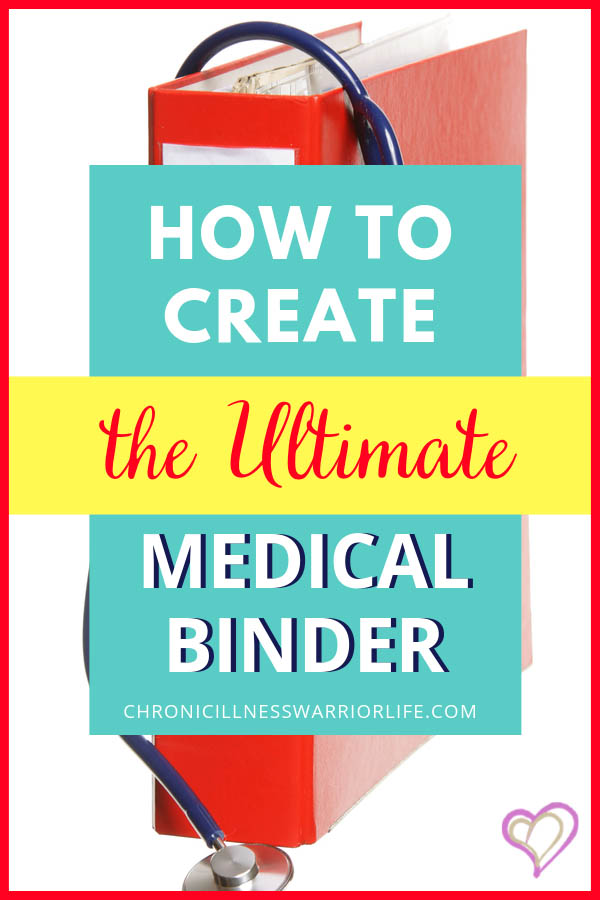 If you want to know exactly how to put together your medical binder this is a great step-by-step guide on how to do that. You might want to DIY Medical Binder and so you need to know the best supplies and handy hacks to make your own medical binder. #medicalbinder #medicalinformation #medicalorganization #chronicillness