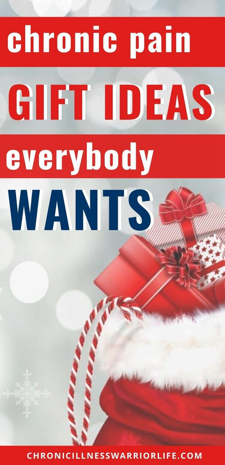 The best Christmas gift ideas by people living in chronic pain. You can't go wrong choosing something from this list. #health #chronicpain #chronicillness #gifts #christmas #presents via @chronicillnesswarriorlife