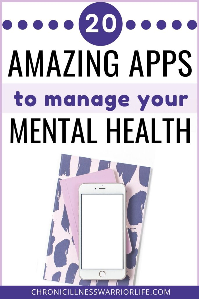 Mental health apps are so easy to use and I always have my phone right next to me. These are great apps for me to choose from and I can use them manage my mental illness. #chronicillnesswarriorlife #chronicillness #mentalillness #depression #mentalhealth #depressionhelp #mentalhealthapps #anxiety #anxietyhelp #mindfulness #meditation #deepbreathing