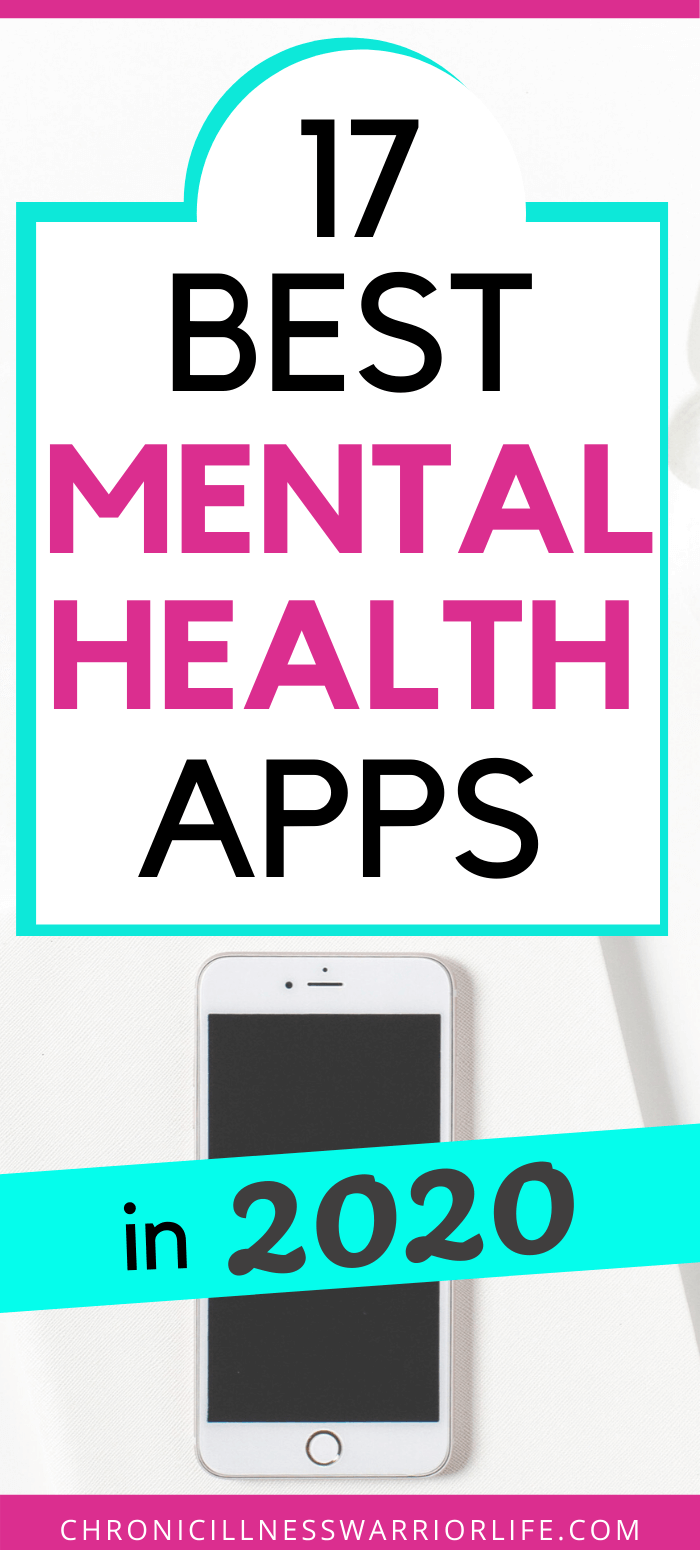 This article highlights the best mental health apps for 2020. Since I always have my phone right next to me, using apps to manage and track my mental health is easy and effective. The best mental health apps teach me new coping strategies like meditation and deep breathing as well as let me keep track of my mood. It makes it easy to put into practice the coping strategies my therapist has suggested I use. #mentalwellness #mentalhealth #depression #anxiety #ptsd #bipolar #copingstrategies via @chronicillnesswarriorlife