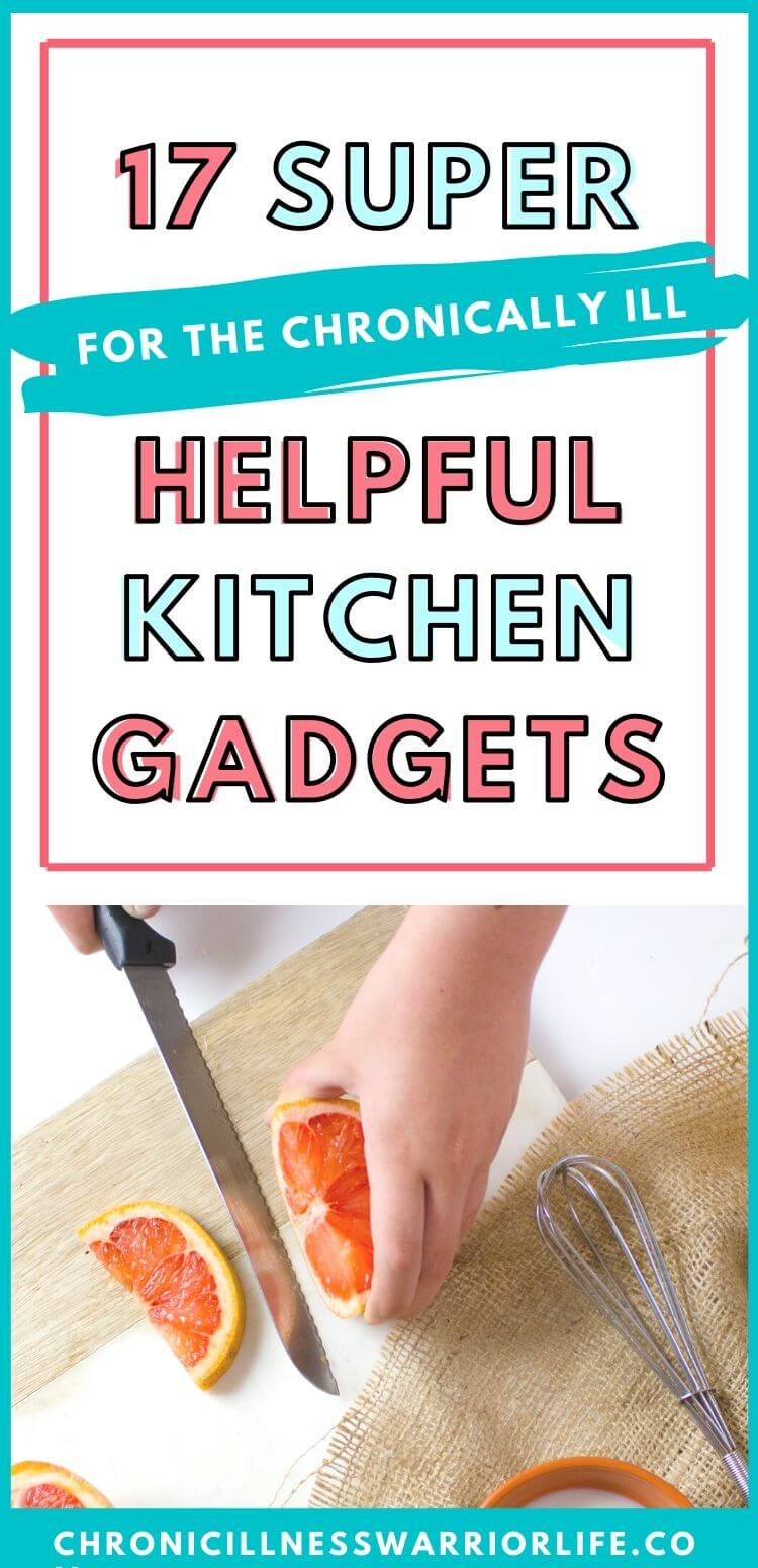 I am planning to stock my kitchen with amazing gadgets and tools. I need to cook more but living with a chronic illnes brings lots of challenges to everyday life. So having this kitchen gadgets on hand will make my life so much easier when cooking meals for my family. #lifetips #householdmanagement #chronicillness #kitchengadgets via @chronicillnesswarriorlife