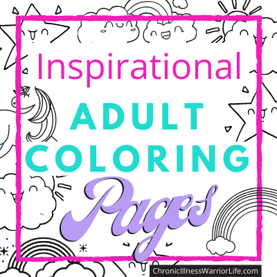 inspirational adult coloring objects